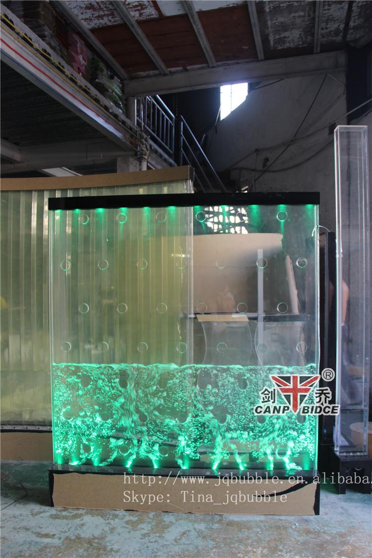 Restaurant Interior Designer Aquarium Led Light Custom Water Walls ...
