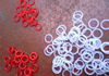 Custom made injection molding transparent silicone o ring