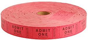 Stock Ticket-Admit1-Red/2000-Rl