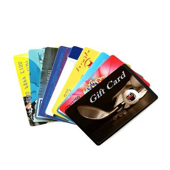 pvc custom printing new design pure color visa gift card - Custom Visa Gift Cards