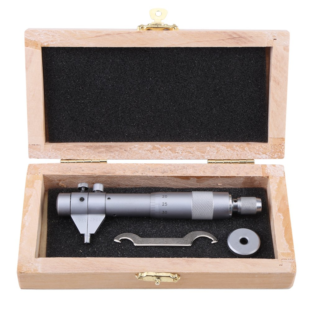 Lock Nut 0-1 Range 0.001 Graduation Starrett 256RL-1 Disc-Type Micrometer Ratchet Stop -0.00015 Accuracy