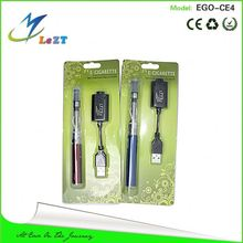 Supreme e cigarette 2013 colorful ego electronic cigarette wholesale with changeable and washable ce4 clearomizer
