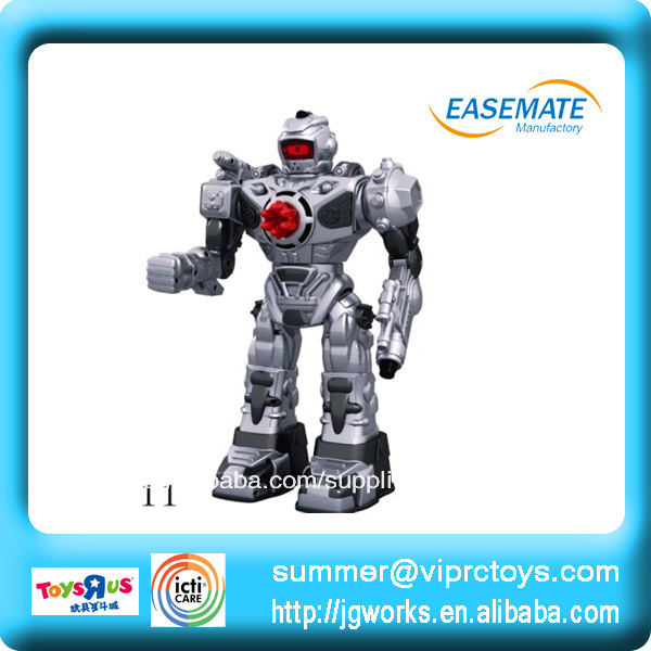 mando a distancia de disparo del robot chico de lucha robot juguetes