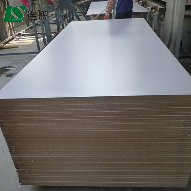 Waterproof high gloss melamine mdf panel