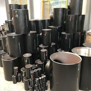 y carbon steel tee ASTM A234 WPB pipe fitting equal