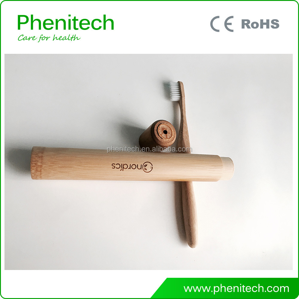 Top quality OEM 100% biodegrable natural wholesale eco bamboo toothbrush