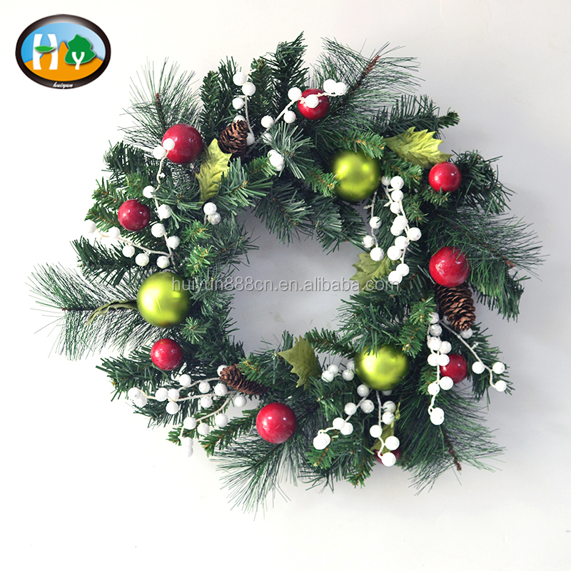 wholesale christmas wreath decorations wholesale christmas wreath decorations suppliers and manufacturers at alibabacom - Wholesale Christmas Decorations