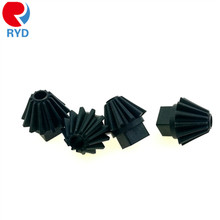 Custom Plastic Mould Injection Black Small Straight Nylon Bevel Gear From China Supplier