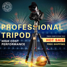Qingzhuangshidai Q999S Travel Tripod 1440mm Aluminum Professional Camera Tripod with Ball head Monopod Q9S Kit For Digital SLR