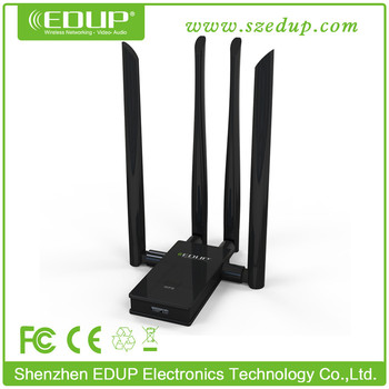 Best Buy EDUP EP-AC1621 Dual Band 1750mbps wireless adapter, 802.11 AC USB Dongle Wifi with WPS Button