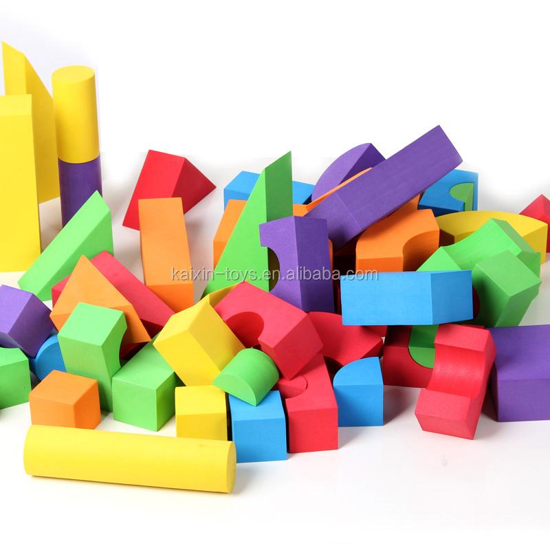 Hot Sale Foam Blocks For Kids Rubber Building Blocks