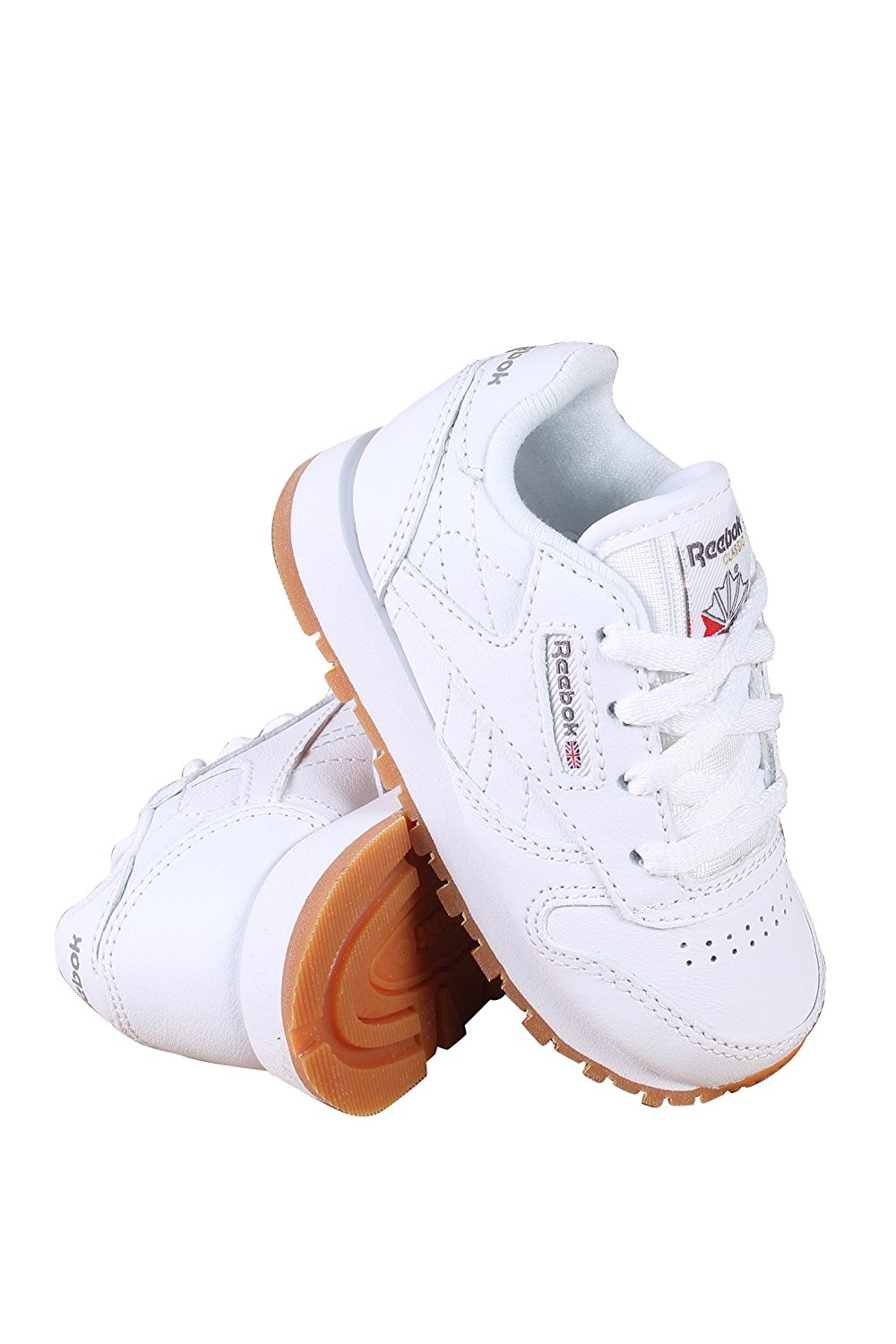 81a9f3105fcf Get Quotations · Reebok Classic Leather Shoe (Infant Toddler)