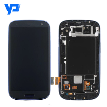 LCD screen touch digitizer assembly for for Samsung gt-i9300 S3 LCD with original new quality
