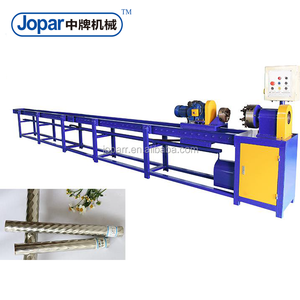 Easy operated hot sales decorative rid type GI pipe threading machine