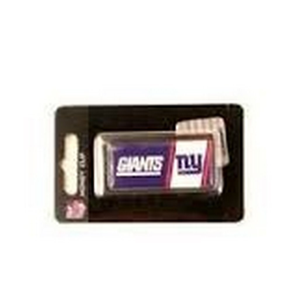 Officially Licensed NFL Bar Style Striped Design Money Clip