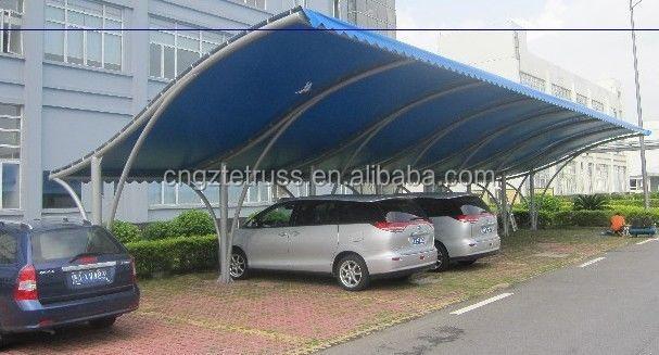 תוספת אוהלי חניה לרכב סין חמה מכירת מחיר המפעל למכירה-ארכיטקטורת קרום FL-04