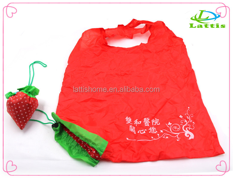 foldking shopping bag with polyester