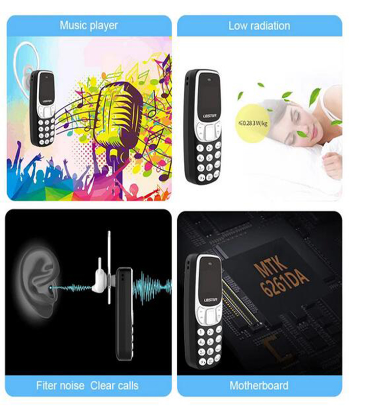 Neueste kleinste L8STAR BM90 China Mini Handy 0,66 OLED GSM mini handy entsperrt made in Guangzhou