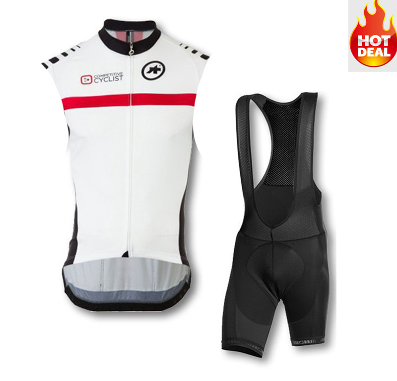 Get Quotations · cycling jersey sleeveless shirt roupa cicilismo sleeveless+bib  shorts summer hot sale riding bike best 8bde90aaf