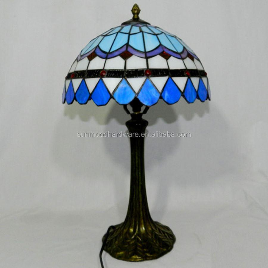 Tiffany Mediterranean Warm Table Lamp Living Room