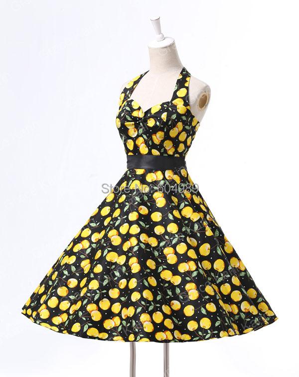 2ecad597190 Summer Style 40s 50s 60s Rockabilly Retro Vintage Swing Audrey ...