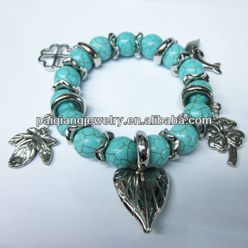 New Arrival Fashion Natural Stone real turquoise jewelry