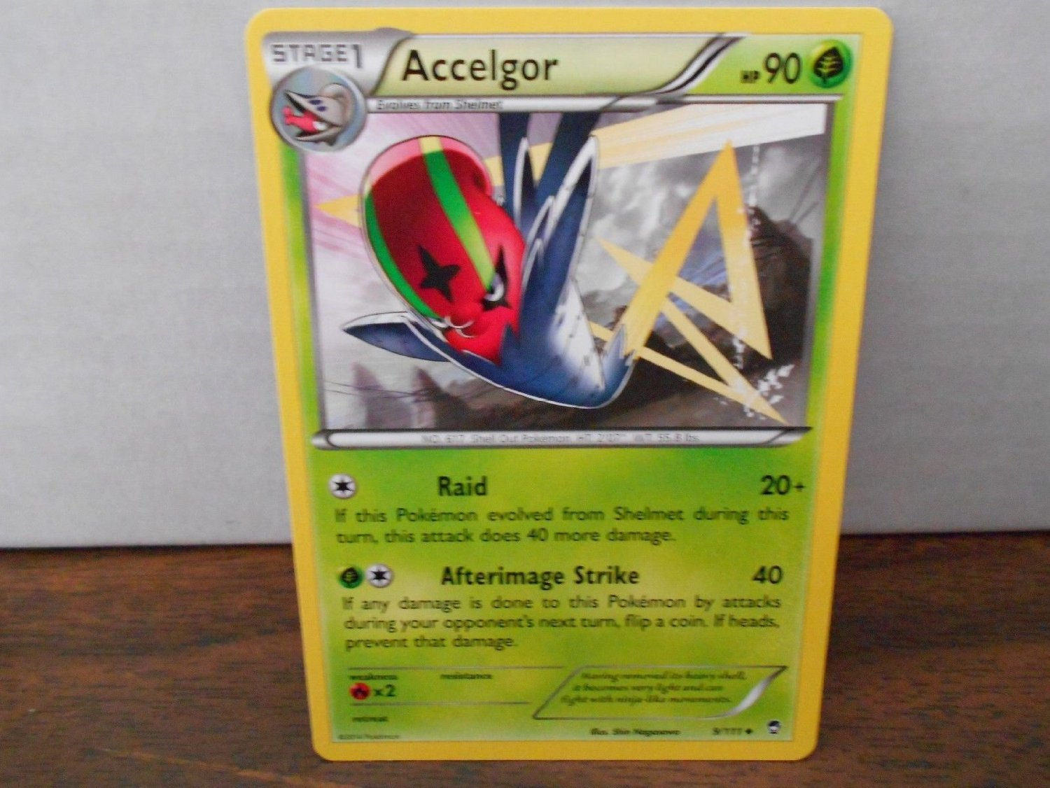 (Ship from USA) Pokemon Furious Fists Accelgor 9/111 Uncommon X2 /ITEM#H3NG UE-EW23D97834