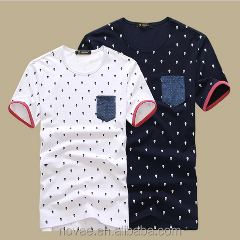 6b049f12a Skull Fashion New 2014 Summer Men s Clothing Male Short-sleeve O ...