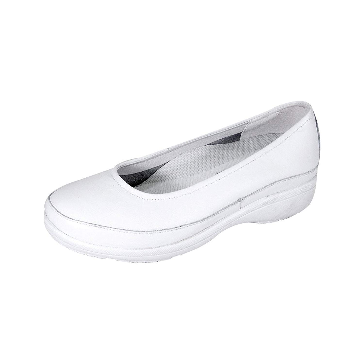 e3d517151a6 Get Quotations · 24 Hour Comfort Janine Women Adjustable Wide Width Durable  and Lightweight Step in Shoes