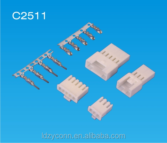 UL approved 2.50mm pitch 2 3 4 5 pin pole way wire to wire electric connector replaces YEONHO SMP/SMH250