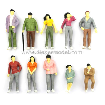Various Miniature Plastic Model Human Figurines For Architectural Model And  Train Model Layout - Buy Model Figurines,Plastic Model Figurines,Miniature