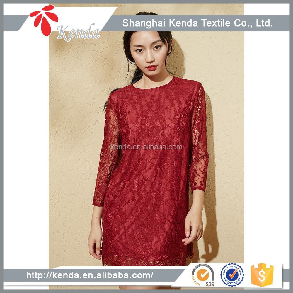 China Wholesale Market Agents High Quality Women Dresses
