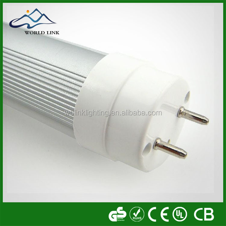UL DLC Listed Direct Fit Ballast Compatible plug and play T8 LED Tube 4ft 18W