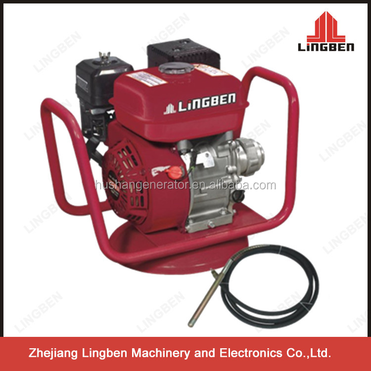 ZheJiang LingBen Portable Gasoline Concrete Vibrator With 168F Engine Recoil Start