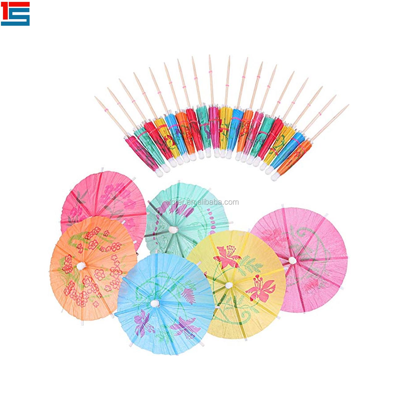 Customer Logo Umbrella Pick for Party(id:10349675). Buy