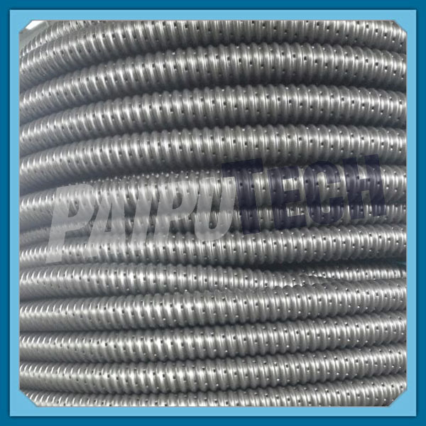 Single Wall Perforated Weeping Drain Tile with Filter Sock