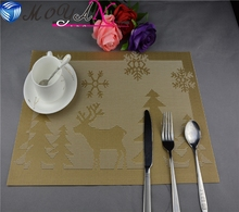 MY-84 gold placemats table mats and coasters