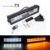 72W flood spot yellow and white LED bar light for truck jeep trailer off road