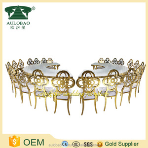 buy furniture from china online selling charpie stainless steel chair gold colour
