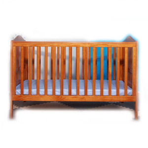 No paint baby cribs folding wooden bed