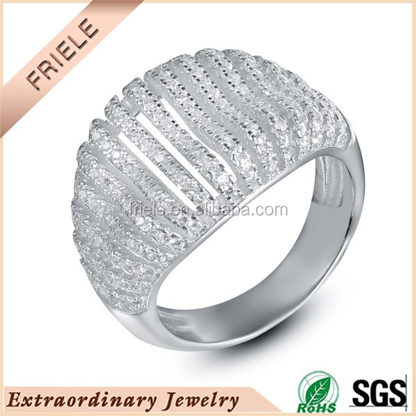 cheap silver engagement rings white gold plated sterling