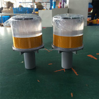 traffic safety solar led warning light