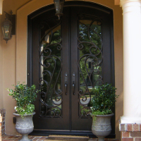 iron door metal front doors