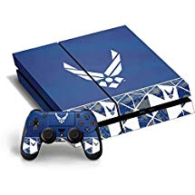 9238542fd6ef US Air Force PS4 Horizontal Bundle Skin - Air Force Symbol Vinyl Decal Skin  For Your