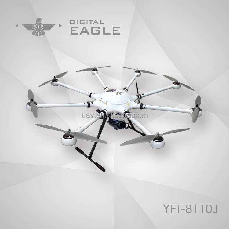 Aerial photography mapping surveillance UAV drone with hd camera