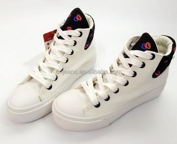Design Canvas Shoes Girls Fancy Shoes