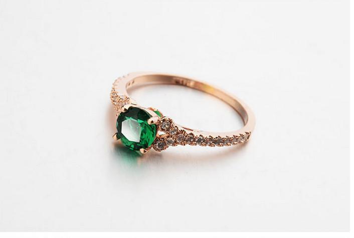 Voorkeur Ouderwetse Trouwringen 18k Gouden Vingerring Laatste Gouden Ring  &CD88