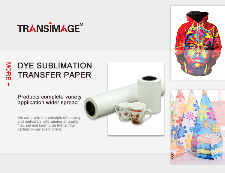 Customized image sticky sublimation heat transfer paper