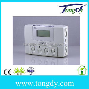 Greenhouse CO2 controller with temperature and humidity controller for green space