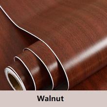 1 м/2 м водонепроницаемый текстура древесины виниловая обои рулон самоклеющийся контакт бумажные двери шкаф настольная современная мебель ...(Китай)